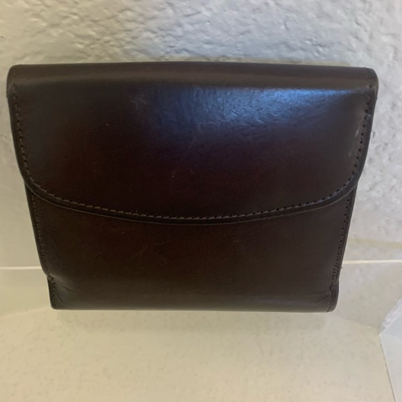 None Handbags - Women Leather Brown Wallet